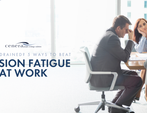 Feeling Drained? 5 Ways To Beat Decision Fatigue At Work