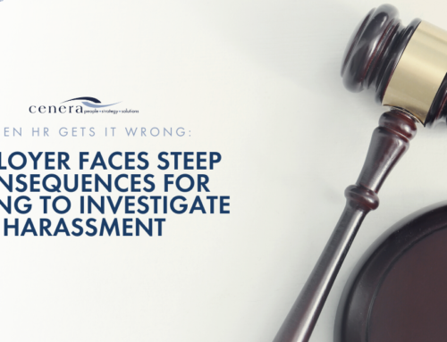 When HR Gets It Wrong: Employer Faces Steep Consequences for Failing to Investigate Harassment