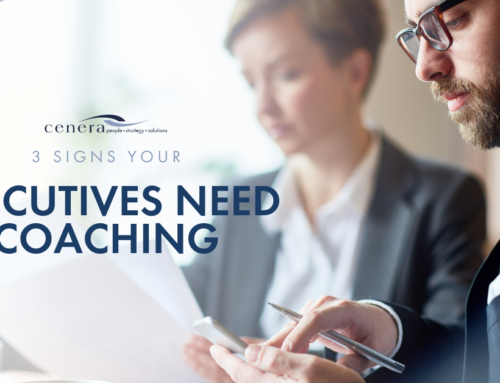 3 Signs Your Executives Need Coaching