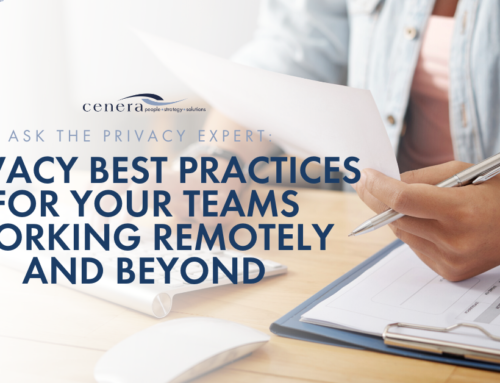 Privacy Best Practices for Your Teams Working Remotely and Beyond