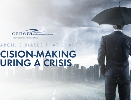Research: 3 Biases That Shape Decision-Making During A Crisis