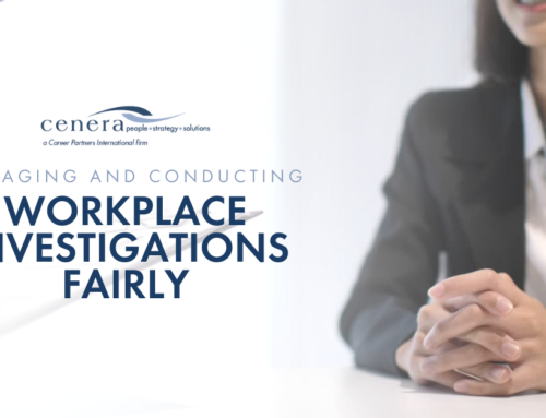 Managing and Conducting Workplace Investigations Fairly