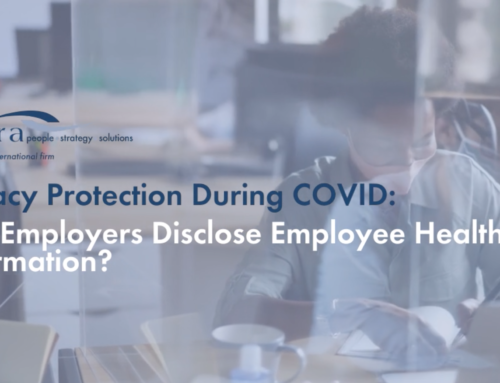 Privacy Protection During COVID: Can Employers Disclose Employee Health Information?