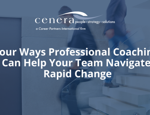4 Ways Professional Coaching Can Help Your Team Navigate Rapid Change